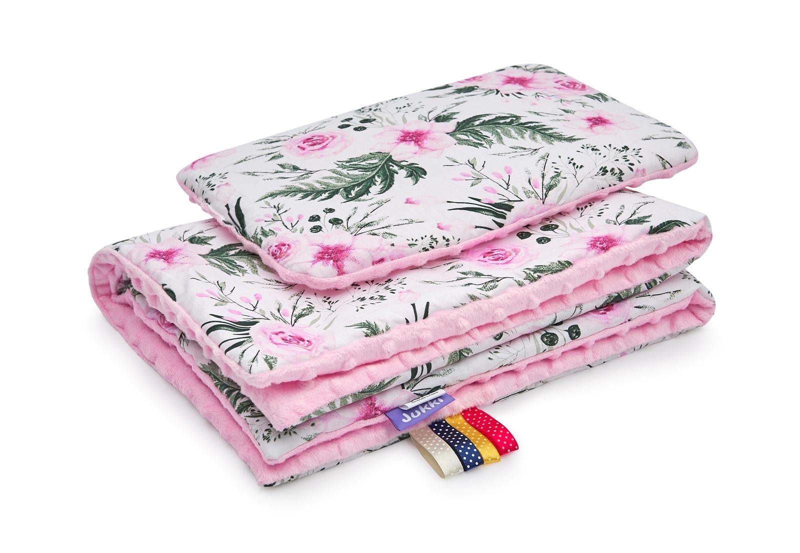 kocyk-płaska-poduszka-ingarden-pink-Jukki